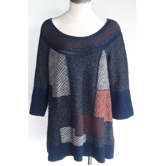 4ea984d0787 Free People Sweaters -  Free People  Oversized Chunky Knit Tunic Sweater